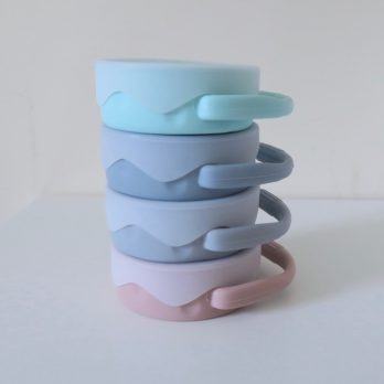 Collapsible Silicone Snack Pot